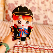 20cm KPOP NCT Plush Toy Orange RENJUN Doll with Clothes Original From RenJunBar