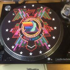 "12""  VINYL RECORD FELT SLIPMAT  HAWKWIND  IN SEARCH OF SPACE  LP"