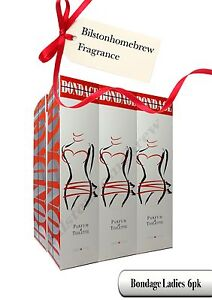Milton Lloyd Bondage Woman 50ml Parfum de Toilette spray x 6 pack