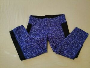 Womens Athleta Pants M Medium Purple Gym Workout Yoga
