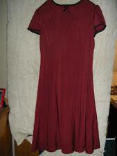 Hot Topic Hell Bunny Vixen Burgandy Dress Sz L