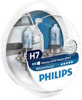 Philips White Vision H7 Luce Bianco 12V Lampadina Fari Auto 12972WHVSM Paio