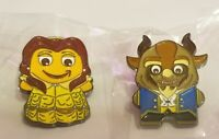 Amazon Peccy Pins- Beauty & the Beast set of 2 pins.  Rare!