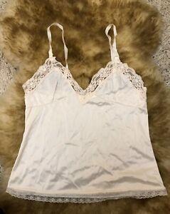 Queentex Camisole beige nude  Top sleepwear nightwear size M