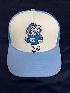 UNC North Carolina Tar Heels Mascot Embroidered Logo Hat Cap Trucker Snapback