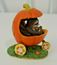 Charming Tails Jack-O-Lantern Jalopy Figurine Fitz and Floyd 85/410 Dean Griff