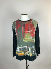 Men's CUSTO BARCELONA 'City Artwork' Longsleeve Top/Sweatshirt. L/M
