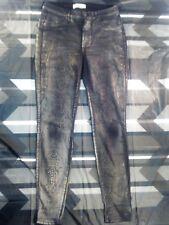 CJ Womens Jeans sz 30 python silver black joy leggings skinny snake pewter