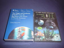 Teaching Co Great Courses DVDs   THE ORIGIN and EVOLUTION of EARTH   new + bonus