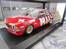 BMW 635 CSi DRM ETCC Brno 1984 Brancatelli Kelleners BMW Italia Minichamps 1:18