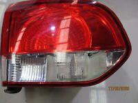 GENUINE 2008 VW GOLF TSI MK6 1.4L 2007-09, INNER LEFT TAIL LIGHT 5K0945259