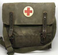 Vintage 1960's German Armed Forces Military Medical Stretcher w/ Bag (RF1032)