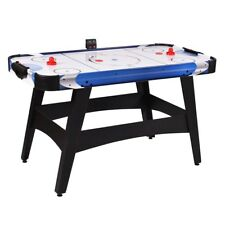 """54"""" Home Air Powered Hockey Table W/ Electronic Scorer Game Play For Kids Adults"""