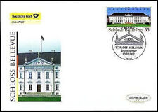 FRG 2007: Lock Bellevue! Post-FDC no. 2601 with Berlin Affixed 1802