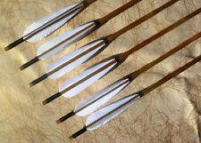 Achery Sports X6 Handmade Bamboo Shalf Feathers Archery Practice Arrows