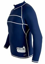ADULT Long Sleeve Rash Vest Guard strong flatlock stitch SPF protection size XL