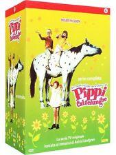 DvD PIPPI CALZELUGHE CAJA 7 DVD SERIE COMPLETA NUEVO