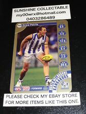2013 TEAMCOACH GOLD CARD NO.160 DREW PETRIE NORTH MELBOURNE KANGAROOS