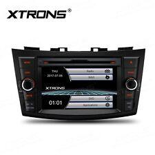 "AUTORADIO 7"" Suzuki Swift Navigatore Gps Bluetooth Comandi Volante Dvd Mp3 Cd"