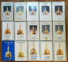 Complete 15 Hummel Goebel Annual Bells Collection:1978–1992 in Original Boxes