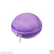 Mini Zipper Earphone Headphone Earbuds SD Card Storage Bag Box Carrying Pouch