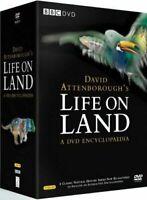 David Attenborough's Life On Land COMPLETE 15 DVD Encyclopaedia GIFT IDEA NEW