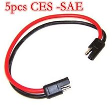5X 18 gauge 2 pin molded connector Quick-Disconnect -Wire Harness -SAE connector