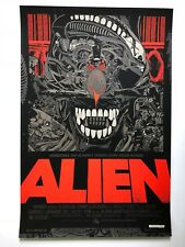 Tyler Stout Alien print regular Mondo artist signed Aliens Prometheus Covenant