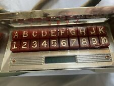 Seeburg M100 Push Button selector Unit