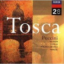 NILSSON/CORELLI/MAAZEL/OASCR - TOSCA (GA) 2 CD NEW!