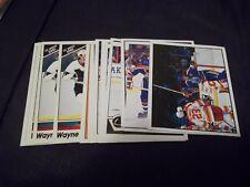 Panini Wayne Gretzky Hockey Sticker Singles (you choose from list)