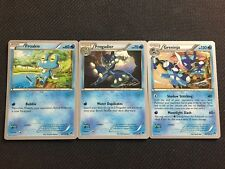 Pokemon TCG : GRENINJA FULL EVOLUTION 38-39-40/122 World Championship PROMO
