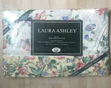NEW VTG LAURA ASHLEY HOME Juliet Floral Twin Flat Bed Sheet