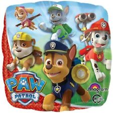 "Paw Patrol 18"" Anagram Balloon Birthday Party Decorations Lot of 5 Balloons"