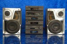 ►SONY MHC 3600◄HI-FI AMPLI LETTORE CD TAPE DECK RADIO TELECOMANDO CASSE MINI