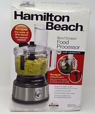 Hamilton Beach Bowl Scraper 10 Cup Food Processor - Black 70730