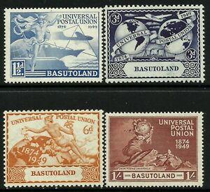 Basutoland 1949 UPU set Mint Lightly Hinged Fresh Gum