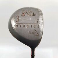 TaylorMade System 2 Midsize Flextwist Graphite 15 Degree Right Hand Golf Driver