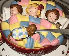 Campbell Soup kids Sleeping In A Bowl Ornament