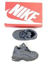 Poco Nike Air Max 95 Size UK 6.5 Niños Niñas Entrenadores-Negro 23.5 euros