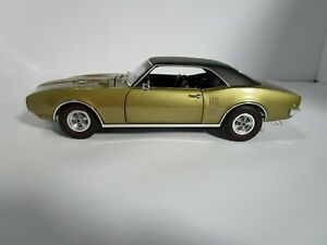 DANBURY MINT 1/18 ACME GOLD/BLACK 1968 PONTIAC FIREBIRD USED VERY NICE *READ*