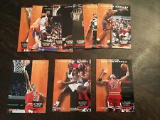 93-94 Hoops Supreme Court Insert Set (11) Michael Jordan, Shaq O'Neal, Pippen
