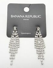 Fabulous New Pair of Crystal Chandelier Earrings by Banana Republic #BRE26