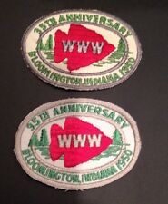 1950 NOAC Conference Patches Real And Official Repro