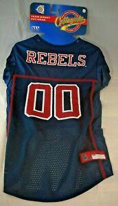 NCAA - University of Mississippi Ole Miss Rebels Team Jersey (Pet, Dog) Large