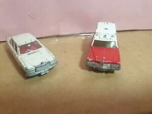 Vintage toy car - Tomica mercedes & cadillac c1970s