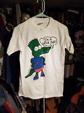 The Simpsons 1990s Vintage Bart T Shirt Florida Gators I'm A Gator Dude. Small S