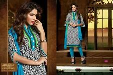 Office/ Party wear Bhagalpuri salwar kameez suit unstitched dress material