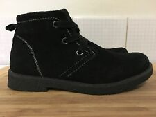 Boys AIRFLEX Black Suede Casual Boots 11.5C - Fantastic Overall Condition!