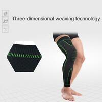 Full Length Knee Sleeve Compression Brace Support For Sport Pain Arthritis M3I8